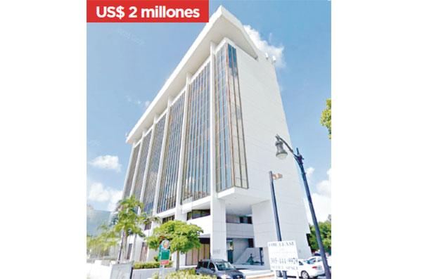 Televideo Services Inc es propietaria de cinco unidades (oficinas) en el Vizcaya View Plaza Condo en Miami.